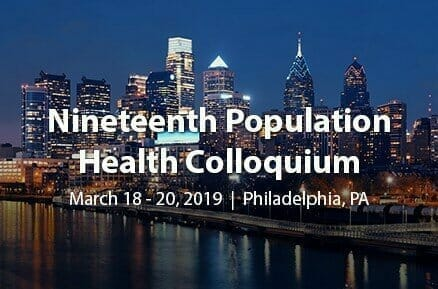 2019 Population Colloquium: What a Week!