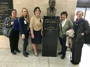 Team meeting meet at the Hubert H. Humphrey Building for an appointment with the US Surgeon General and the Chief Nurse Officer, March 2019